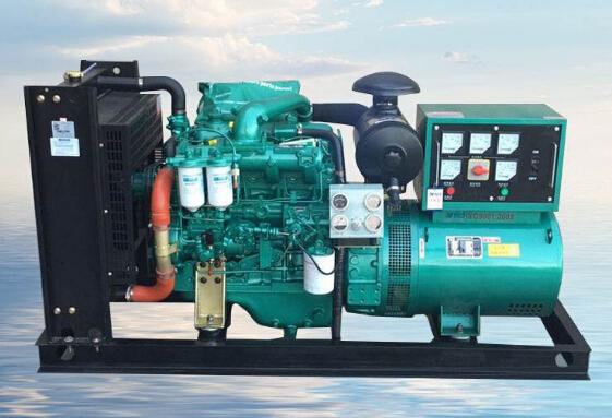 南通二手常柴50kw小型柴油发电机组
